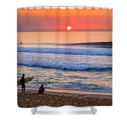 Gold Cup Sunset Shower Curtain