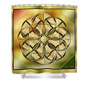 Gold Design 24 Shower Curtain