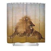 Golden Lion - Original Color Edition Shower Curtain