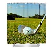 Golf Day Shower Curtain