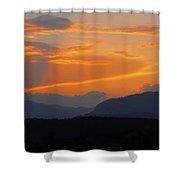 Good Night Carinthia Shower Curtain