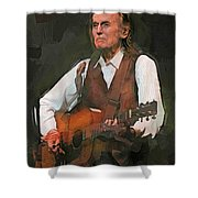Gordon Lightfoot Shower Curtain