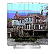 Graceland Mansion  Shower Curtain