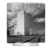 Grain Elevator, 2001 Shower Curtain