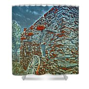 Grand Canyon Stone House Shower Curtain
