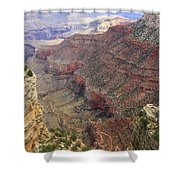 Grand Canyon View 4 Shower Curtain by Dawn Richards