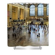 Grand Central Motion Shower Curtain