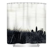 Grand Haven Shower Curtain by Michelle Wermuth