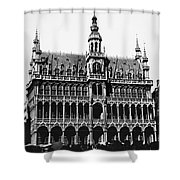 Grand Palace, Brussels Shower Curtain