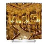 Grand Staircase Palais Garnier Shower Curtain by Brian Jannsen