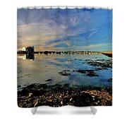 Granton Harbour Shower Curtain