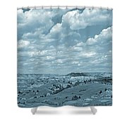 Grasslands Shadow Dance Shower Curtain