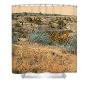 Grassy Ridge Reverie Shower Curtain