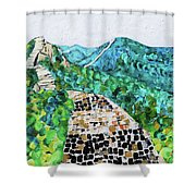 Great Wall 2 201842 Shower Curtain