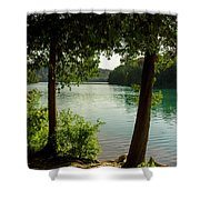 Green Lake, Ny Shower Curtain