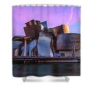 Guggenheim Museum - Bilbao, Spain Shower Curtain