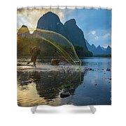 Guilin Net Shower Curtain