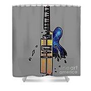 Guitar 4 Shower Curtain