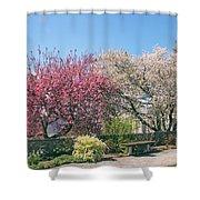 Springtime At Untermyer Park Shower Curtain