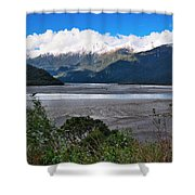 Haast Valley - New Zealand Shower Curtain