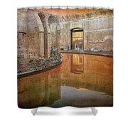 Hadrian's Villa Portico Shower Curtain