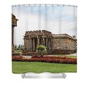 Halebid, Parshvanatha Basadi Shower Curtain