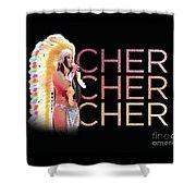 Half Breed Cher Shower Curtain
