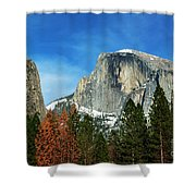 Half Dome, Yosemite National Park Shower Curtain