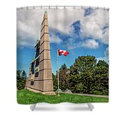 Halifax Explosion Memorial Bell Tower Shower Curtain