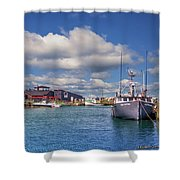 Hall's Harbour 02 Shower Curtain