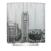 Hamedieh Clock Tower - Beirut Shower Curtain
