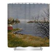 Hamilton Island Shower Curtain