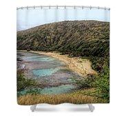 Hanauma Bay Beach Park Shower Curtain