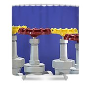 Hand Wheels For Industrial Valves Shower Curtain