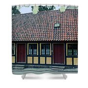 Hans Christian Anderson Childhood Home Shower Curtain