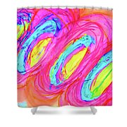 Happy Genes Shower Curtain