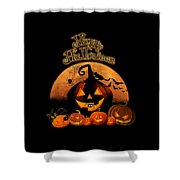Happy Halloween Shower Curtain