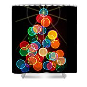 Happy Holidays - 2015-r Shower Curtain
