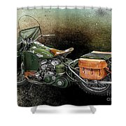 Harley Davidson 1942 Experimental Army Shower Curtain