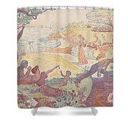 Harmonious Times By Signac Shower Curtain