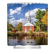 Harrisville, New Hampshire Church Shower Curtain