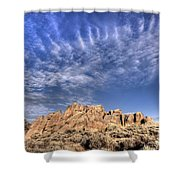 Hartman Rocks Shower Curtain