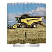 Harvest Time Shower Curtain by Ann E Robson
