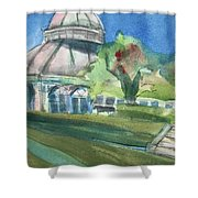 Haupt Conservatory At Nybg Shower Curtain
