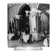 Havana Cafe, C1904 Shower Curtain