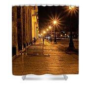 Havana Street Lights Shower Curtain by Tom Singleton