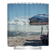 Have A Seat Friend Shower Curtain
