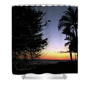 Hawaii Sunset Shower Curtain