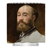 Head Of Jean Baptiste Faure        Shower Curtain