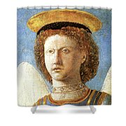 Head Of St. Michael Shower Curtain